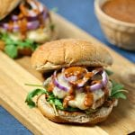 Chicken Mole Burger | CookingInStilettos.com
