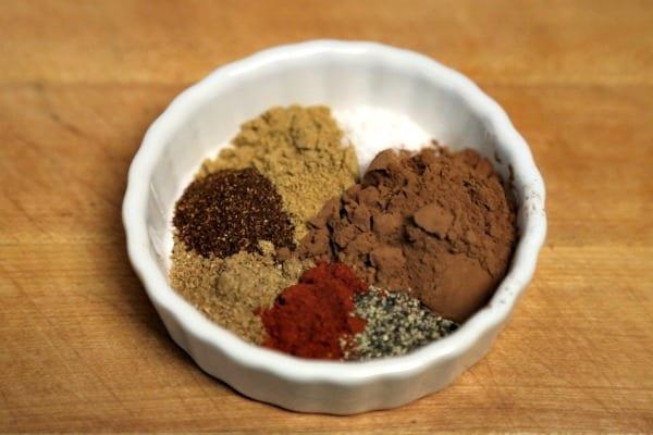 Chicken Mole Burger - Spice Blend | CookingInStilettos.com