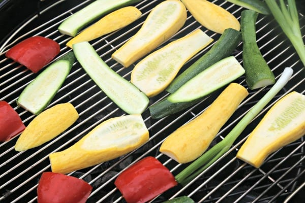 Garlicky Grilled Veggie Mini Tarts - On The Grill | CookingInStilettos.com