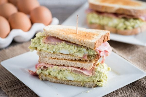 Delicious Dishes Recipe Party - Tasty Sandwiches - Green Eggs and Ham Sandwich from Almost Supermom | CookingInStilettos.com