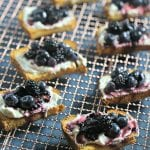 Summer Berry Dessert Bruschetta | CookingInStilettos.com