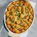 Bacon and Egg Tater Tot Breakfast Casserole