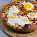 Epic Bacon Croque Madame Pizza